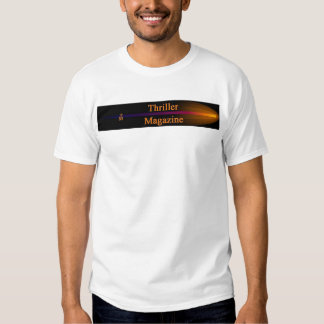 T-shirt do compartimento do filme policial