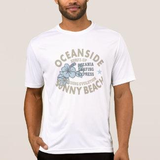T-shirt do concorrente do Esporte-Tek dos homens Camiseta