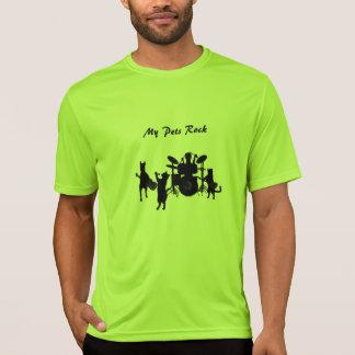 T-shirt do concorrente do Esporte-Tek dos homens d