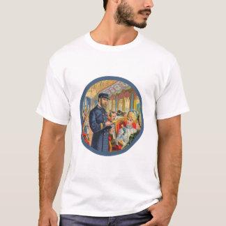 T-shirt do condutor de trem camiseta
