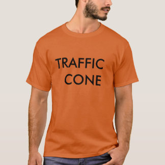 T-shirt do cone do tráfego camiseta