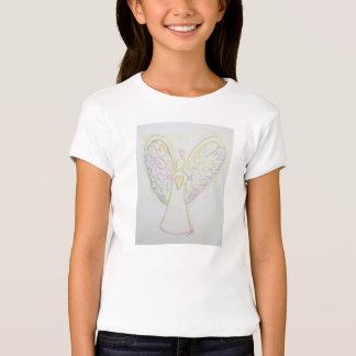 T-shirt do costume do anjo-da-guarda dos corações