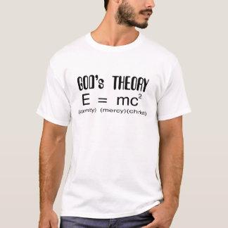 T-shirt do cristão da teoria dos deuses camiseta