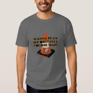T-shirt do curso de obstáculo