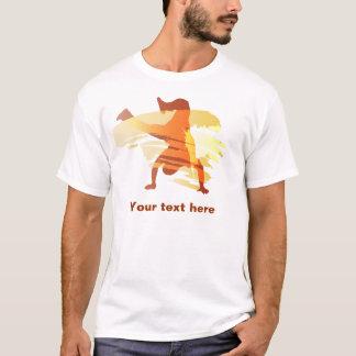 t-shirt do dançarino camiseta