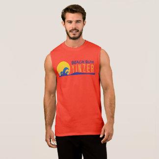 T-shirt do design de Yinzer do vagabundo da praia Regata