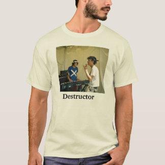 T-shirt do destruidor camiseta