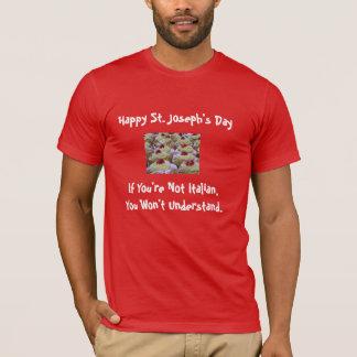 T-shirt do dia de St Joseph Camiseta