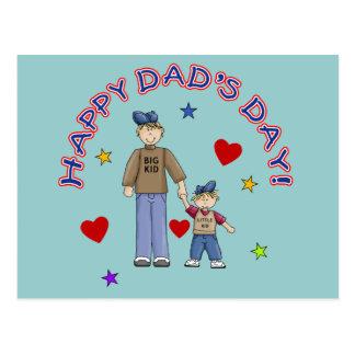 T-shirt do dia do pai feliz, canecas, presentes cartão postal