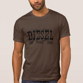 T-shirt do diesel do Grunge
