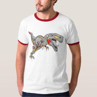 T-shirt do dinossauro do tiranossauro do Cyborg do Camiseta
