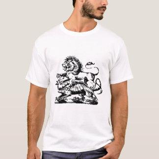 T-shirt do dragão da derrota do leão camiseta