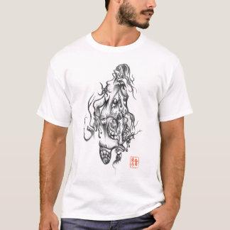 T-shirt do esboço camiseta