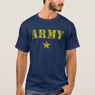 T-shirt do exército camiseta