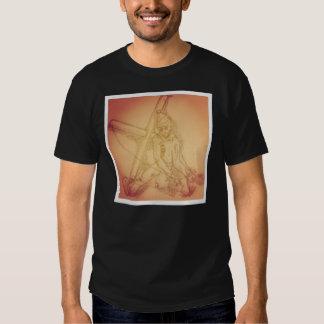 T-shirt do fantoche de Instagram Skelton