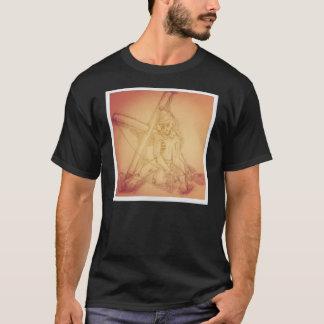 T-shirt do fantoche de Instagram Skelton Camiseta