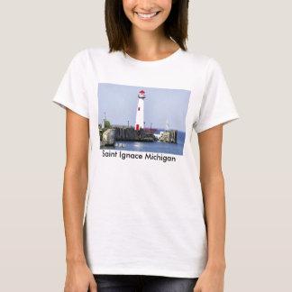 T-shirt do farol de Ignace do santo Camiseta