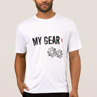T-shirt do feltro de lubrificação do suor dos