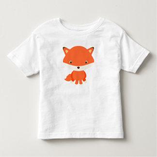 T-shirt do Fox do bebê Camiseta Infantil