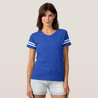 T-shirt do futebol das mulheres é sempre cores do camiseta