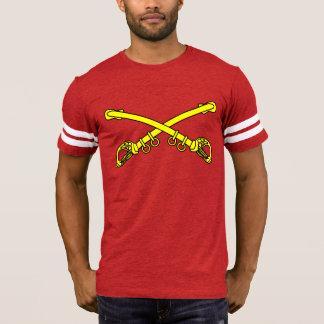 T-shirt do futebol dos homens clássicos dos Sabers Camiseta