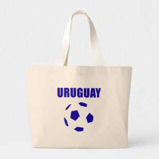 T-shirt do futebol/futebol de Uruguai Bolsas Para Compras