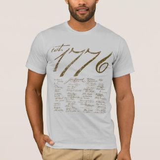 T-shirt do gráfico da declaração camiseta