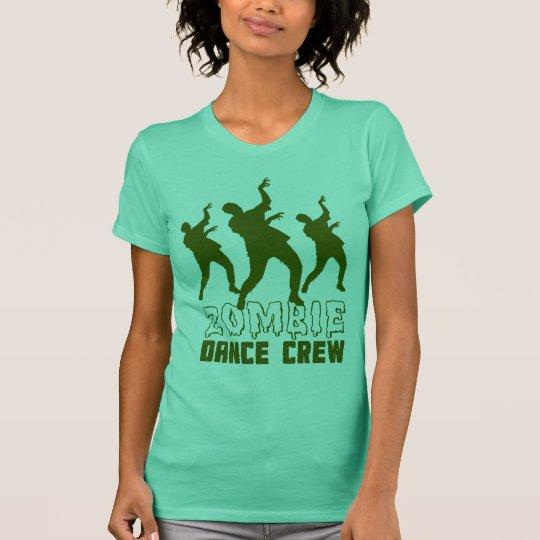 T-shirt do grupo da dança do zombi camiseta