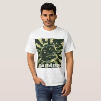 T-shirt do grupo de Camo Camiseta