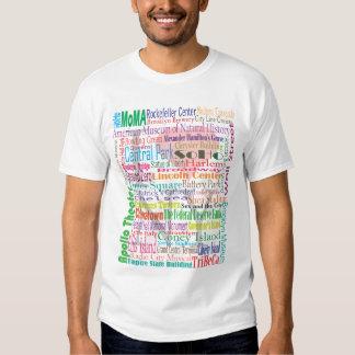 T-shirt do guia turística