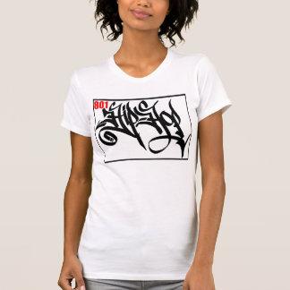 T-shirt do HIP-HOP do CHASSI 801 do DJ da edição