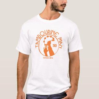 T-shirt do homem do pandeiro de Richard Camiseta