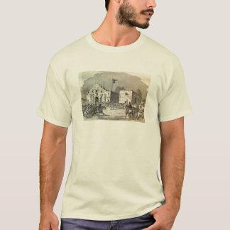 T-shirt do impressão de Alamo Camiseta