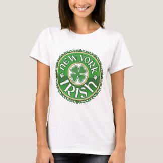 T-shirt do irlandês de New York Camiseta