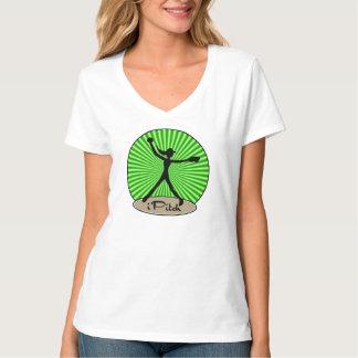 T-shirt do jarro do softball de Fastpitch