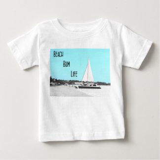 T-shirt do jérsei da multa da vida do vagabundo da camiseta para bebê