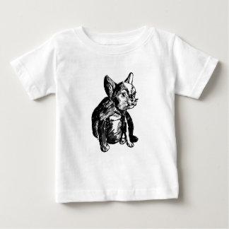 T-shirt do jérsei da multa do bebê do desenho do camiseta para bebê