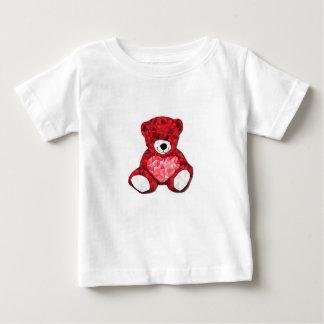 T-shirt do jérsei da multa do bebê do urso de camiseta para bebê