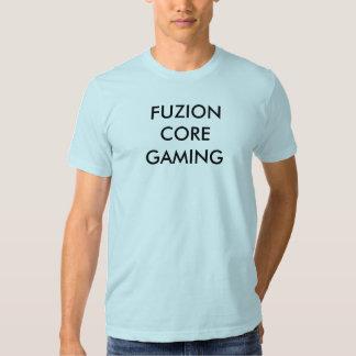 T-shirt do jogo do núcleo de Fuzion
