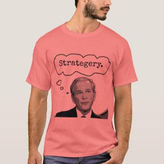 """T-shirt do Jr. """"Strategery"""" do presidente George Camiseta"""