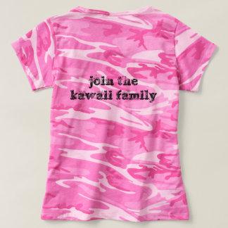 t-shirt do kawaii camiseta