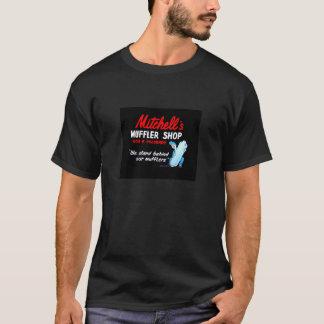 T-shirt do logotipo #2 da loja do silencioso de camiseta