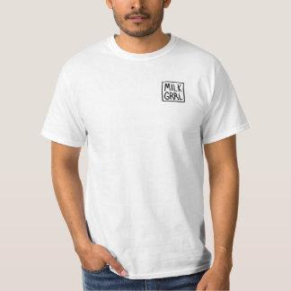 T-shirt do logotipo de MILKGRRL Camiseta