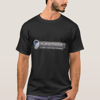 T-shirt do logotipo de Planetarion grande Camiseta