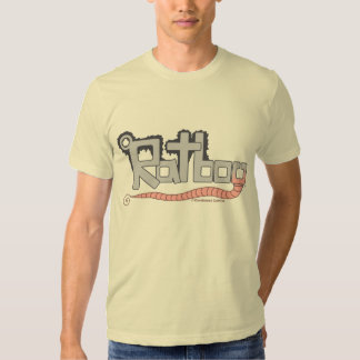 T-shirt do logotipo de Ratboy