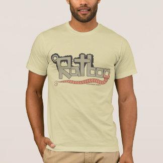 T-shirt do logotipo de Ratboy Camiseta