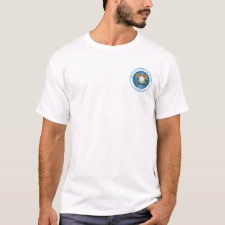 T-shirt do logotipo do estudante da academia da camiseta