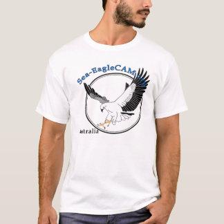 T-shirt do logotipo do Mar-EagleCAM Camiseta