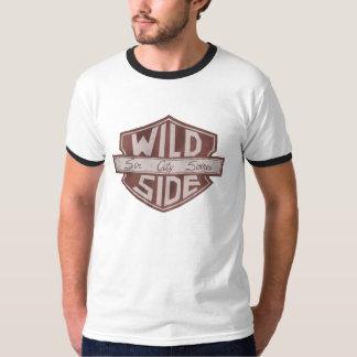 T-shirt do logotipo do protetor dos homens de VWS