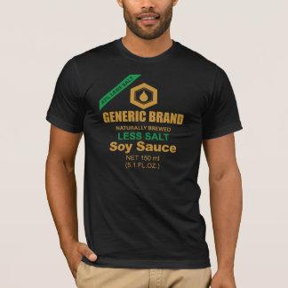 T-shirt do molho de soja camiseta